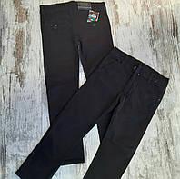 Детские джинсы 11-15 лет для мальчиков школьные черные Турция оптом