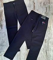 Детские джинсы 6-10 лет для мальчиков школьные синие Турция оптом