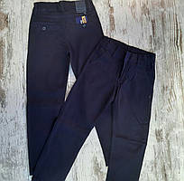 Дитячі джинси 6-10 років для хлопчиків шкільні сині Туреччина оптом