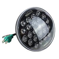 Фара головного світла LED 5,45 (145mm), 9-32 В, 5000К, 42 Вт, мотофара,WM-575L
