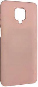 Чохол-накладка Silicone Hana Molan Cano для Xiaomi Redmi Note 9S / Note 9 Pro / Note 9 Pro Max (pink)