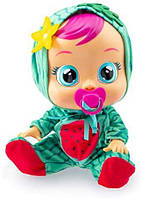 Интерактивная Кукла плакса IMC Toys 93805 Cry Babies MEL Тутти Фрутти Пупс Плачущий младенец МЭЛ Арбузик, фото 1