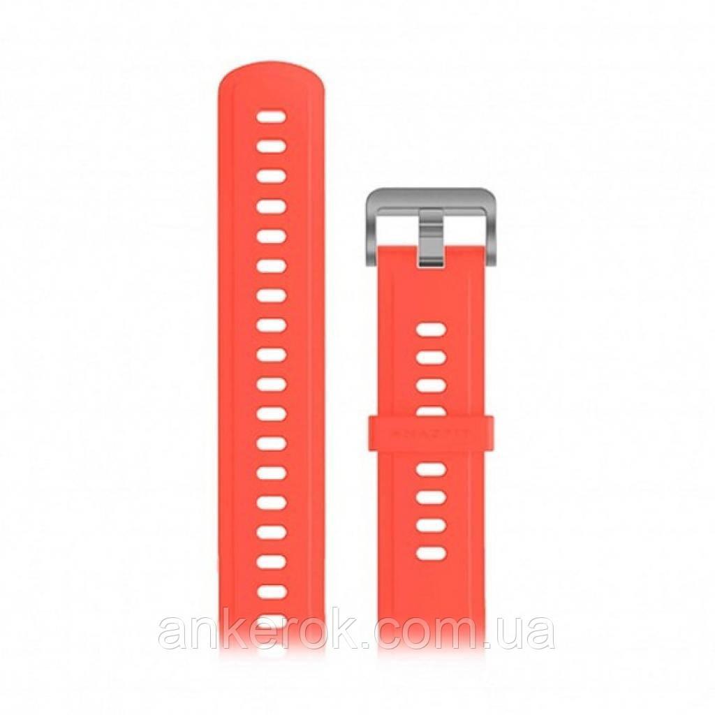 Оригінальний змінний ремінець до Xiaomi Amazfit 47mm (Coral Red)