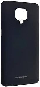 Чохол-накладка Silicone Hana Molan Cano для Xiaomi Redmi Note 9S / Note 9 Pro / Note 9 Pro Max (black)