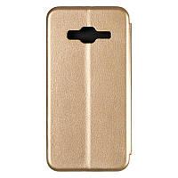 Чехол книжка для Samsung J320 (J3-2016) Gold (G-Case Ranger чехол на Самсунг J320 J3-2016 Золотой )