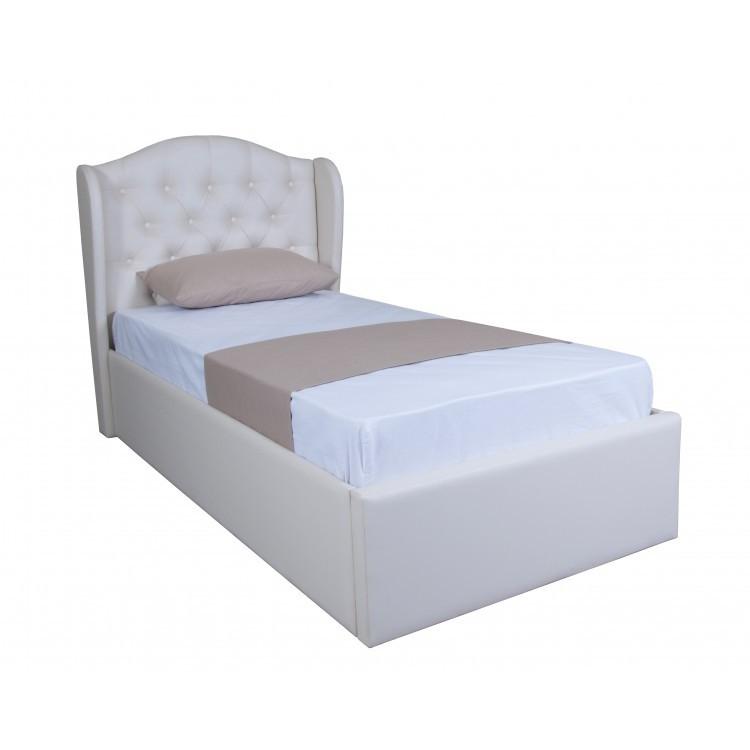 Ліжко Грація Односпальне з механізмом підйому ТМ Melbi