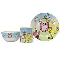 Набор детской посуды Овечка KERAMIA 21-272-041