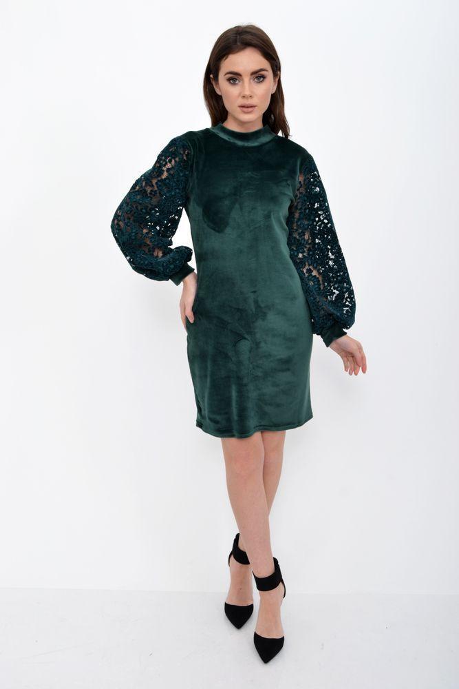 Платье женское 112R470 цвет Зеленый
