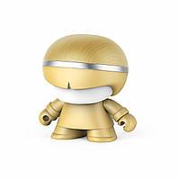 Wels Акуст. система XOOPAR - Mini XBOY (7,5 cm, зол., c Bluetooth, зарядн.USB-каб, LED-подсв., ремешк.), фото 1