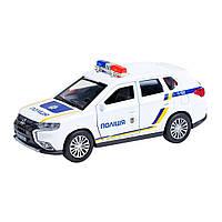 Автомодель - MITSUBISHI OUTLANDER POLICE (1:32), фото 1
