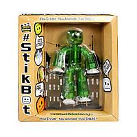 Фигурка для анимационного творчества stikbot s1 (зеленый), фото 1