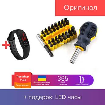 Отвертка со сменными битами Socket Wrench Set 33 детали (934A )