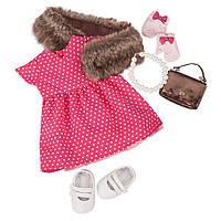 Набор одежды для куклы OUR GENERATION серии Делюкс  РЕТРО ШИК, фото 1