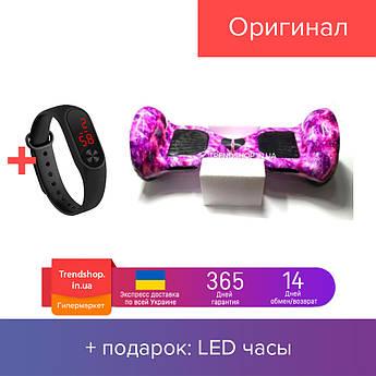 Гироскутер Smart Balance Elite Lux 10.0 подсветка колес фиолетовый космос