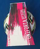 Мяч футбольный Adidas Uniforia Euro 2020 OMB FH7362 (размер 5), фото 10