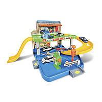 Игровой набор - ГАРАЖ (2 уровня, 1 машинка 1:43), фото 1