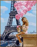 Картина по номерам Babylon Над Парижем 40*50 см арт.NB1236R