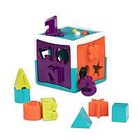 Развивающая игрушка сортер - УМНЫЙ КУБ 12 форм Battat (BT2577Z), фото 1