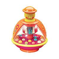 Wels Развивающая игрушка - Юла мандаринка Battat, фото 1
