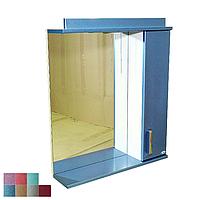 """Зеркало для ванной комнаты с подсветкой и шкафчиком """"Колибри"""" 55ak"""