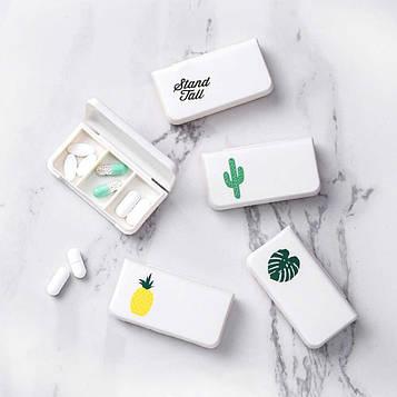 Карманная таблетница Mini pill case
