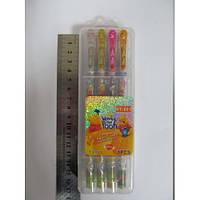 """Ручки гелевые, набор в пластиковой упаковке 8 цветов """"Винни Пух"""" блестящие Josef Otten"""