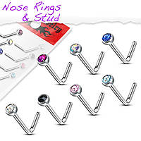Пирсинг в нос Spikes VNO-06