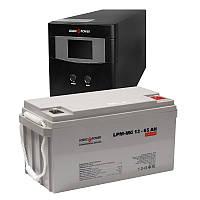 ИБП Logicpower LPM-PSW-500VA + АКБ LogicPower LPM-MG 12V 65Ah мультигель, фото 1