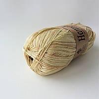 Пряжа Borgo de Pazzi Hannah 64 Желто-коричневый (9282076)