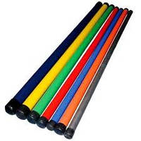Палка гимнастическа пластиковая 1100 мм