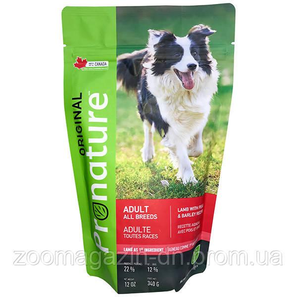 Pronature Original Adult Lamb ПРОНАТЮР ОРИДЖИНАЛ ЯГНЕНОК корм для собак,  18 кг