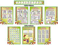 Комплект стендов для начальной школы (7 стендов)
