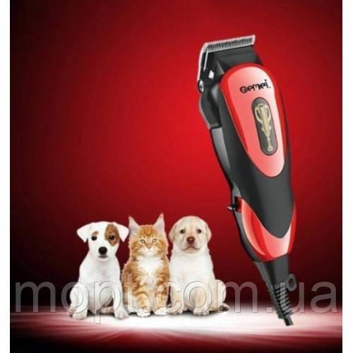 Машинка для стрижки домашних животных Gemei GM 796 + ПОДАРОК