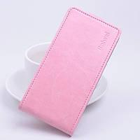Чехол флип для Sony Xperia C5 Ultra нежно розовый, фото 1