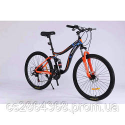 """Горный Двухподвесный велосипед TopRider 910 26"""""""