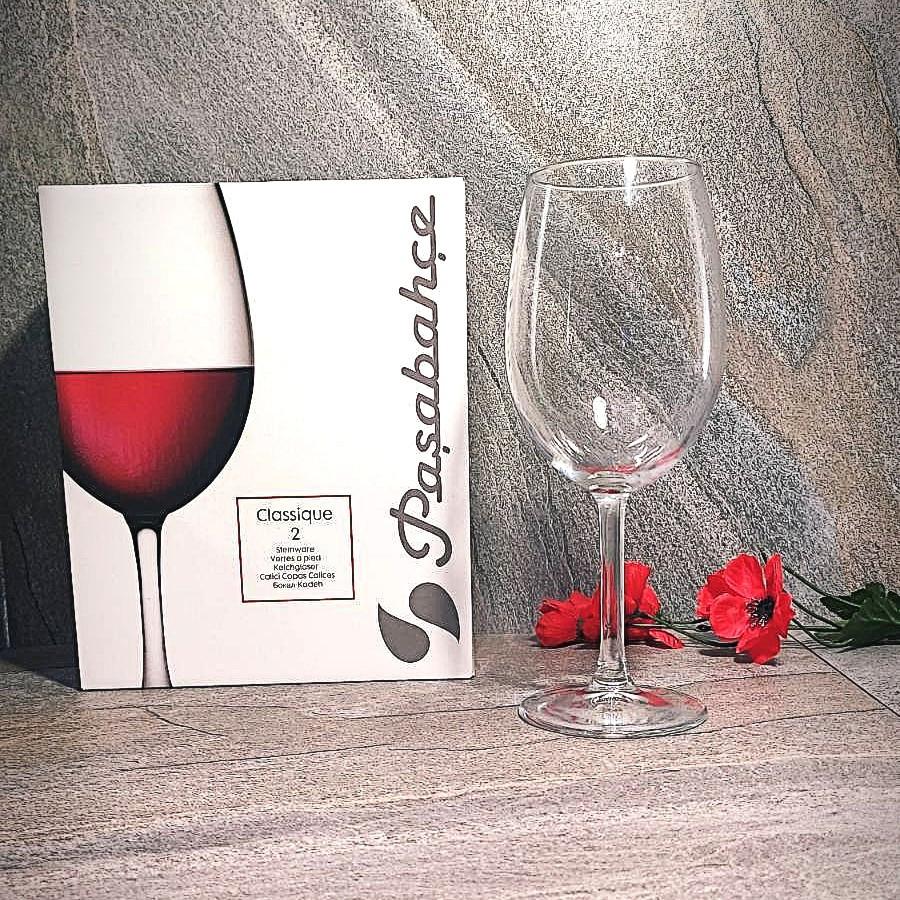 Набор классических бокалов для вина Pasabahce Классика 630 мл 2 шт (440153)