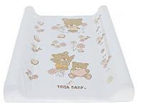 622487 Пеленальная доска Tega Teddy Bear MS-009 118 white pearl
