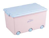 622519 Ящик для игрушек Tega Little Bunnies KR-010 104 light pink