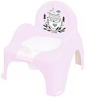 624783 Горшок-стульчик Tega Little Fox (Plus Baby) PB-LIS-007 130 light pink
