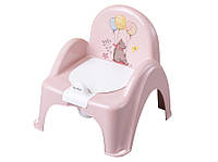 622431 Горшок-стульчик Tega Forest Fairytale FF-007 107 light pink
