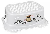 624802 Подставка Tega Owl (plus baby) PB-SOWA-006 нескользящая 106 gray