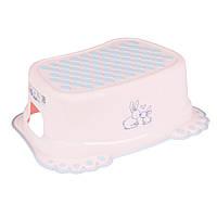 622501 Подставка Tega Little Bunnies KR-006 нескользящая 104 light pink