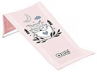 624767 Горка для купания Tega Little Fox (Plus Baby) PB-LIS-026 (сетка) 130 light pink