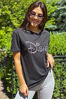 Базовая футболка с вышитой надписью  LUREX - черный цвет, M (есть размеры), фото 1