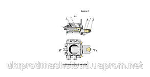 Тестоделитель А2-ХПО/5 (вакуумный) на пневмоприводе, фото 2
