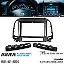 Переходная рамка AWM Hyundai Santa Fe (981-01-559), фото 5