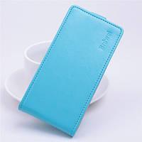 Чохол фліп для Sony Xperia C5 Ultra блакитний, фото 1