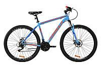 """Велосипед AL 29"""" Formula THOR 1.0 AM DD 2020 (сине-оранжевый )"""