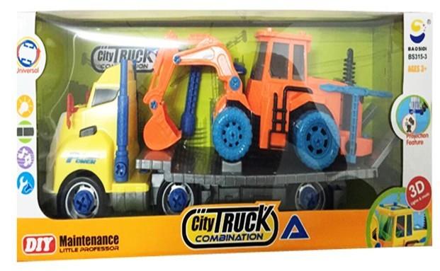 Вантажівка на батарейках, музична. зі світлом, арт. GC039667