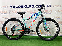 "Велосипед AL 27.5"" Formula ALPINA AM DD 2020 (бирюзово-синий с коралловым)"